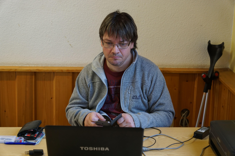Turnierleiter Jürgen Buchta